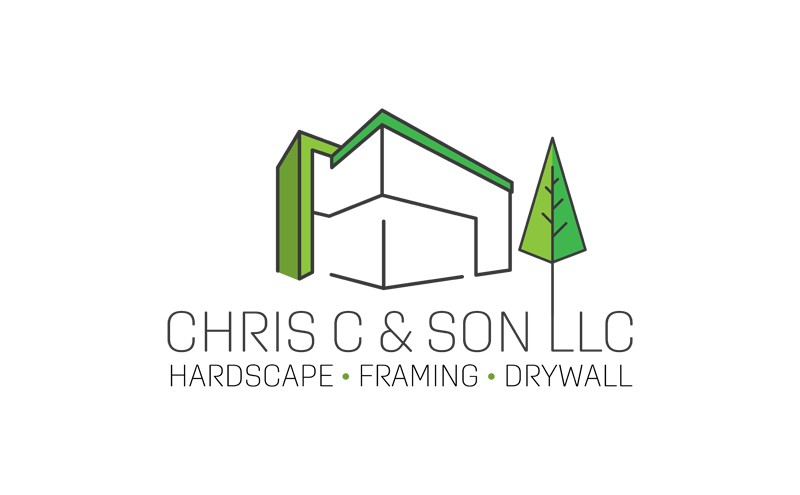 Chris C and Sons stacked logo