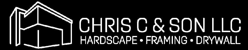 Chris C & Son LLC White logo